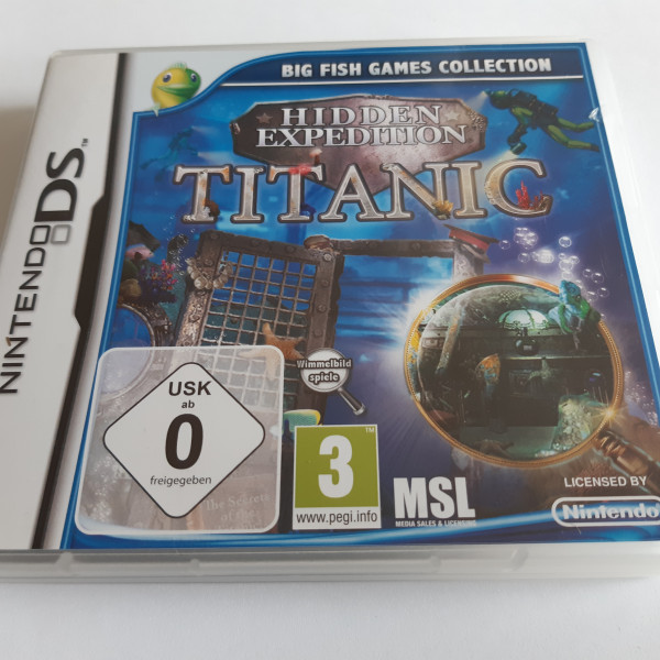 Titanic - Hidden Expedition - DS