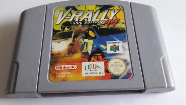 V-Rally Edition 99 - N64