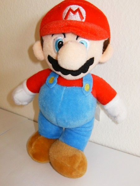 Super Mario - Plüschfigur