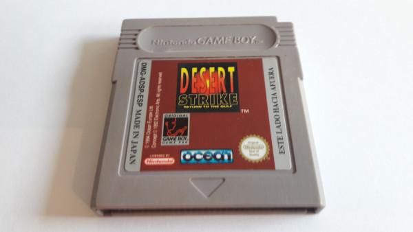 Desert Strike - Return to the Gulf - Game Boy
