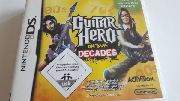 Guitar Hero on Tour - Decades - DS