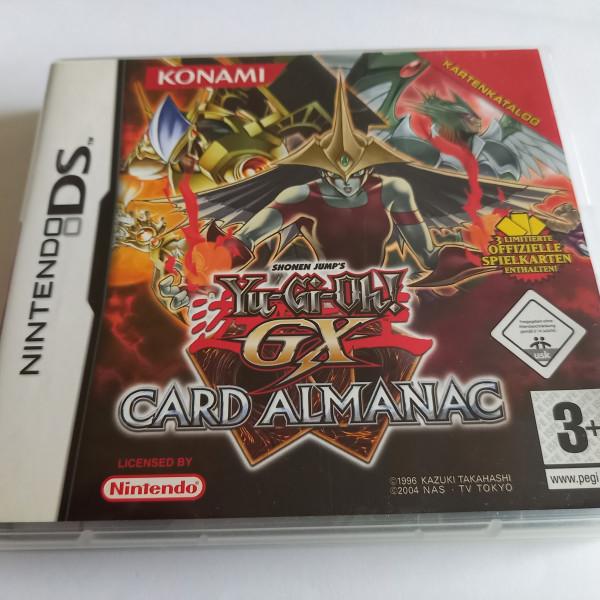 Yu-Gi-Oh! - GX Card Almanac - DS