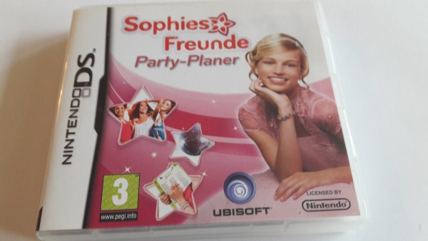 Sophies Freunde - Party-Planer - DS