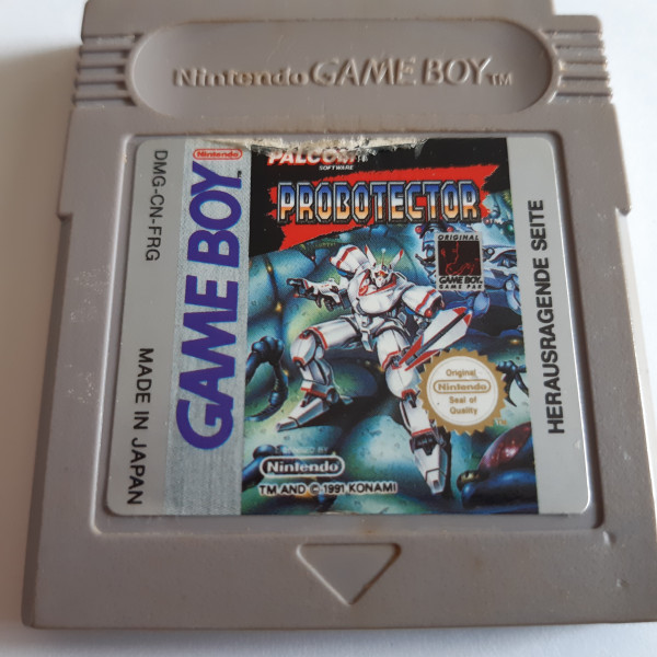 Probotector - Game Boy