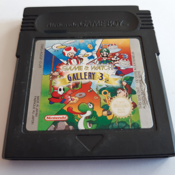 Game & Watch Gallery 3 - GBC