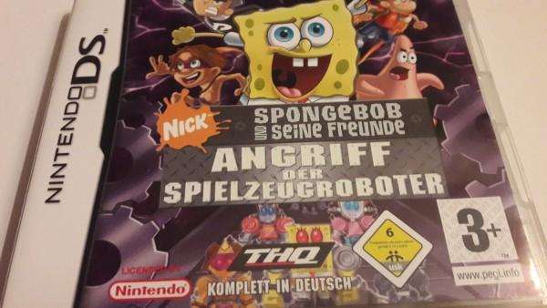 Spongebob und seine Freunde - Angriff der Spielzeugroboter - DS