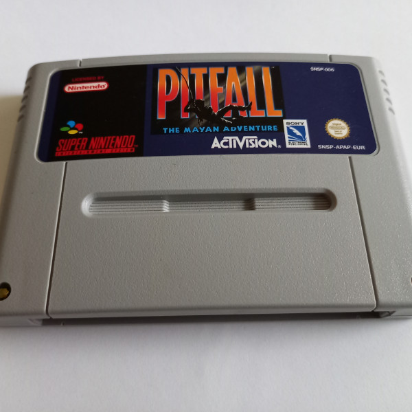 Pitfall - The Mayan Adventure - SNES