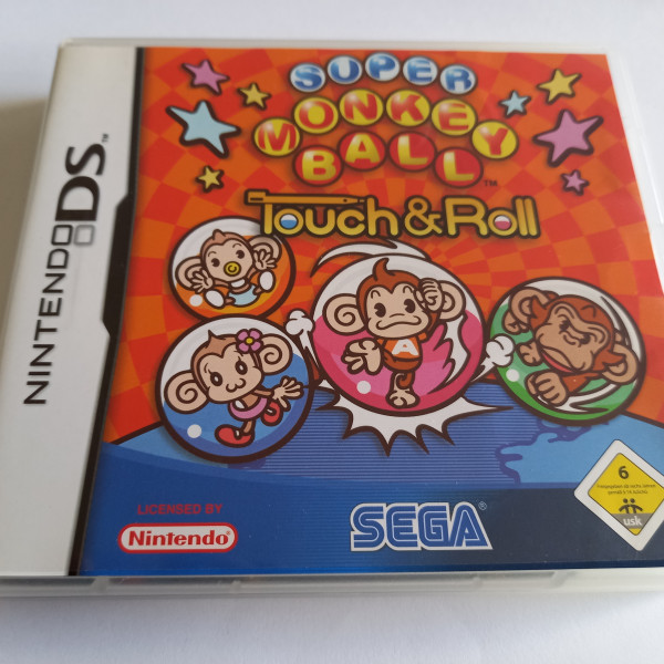 Super Monkey Ball - Touch & Roll - DS