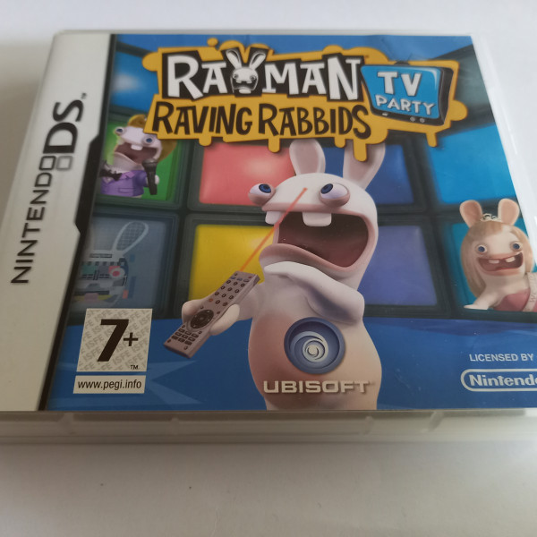 Rayman - Raving Rabbids - TV Party - DS