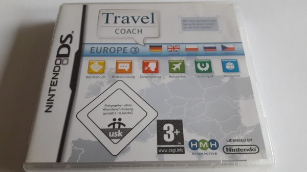 Travel Coach Europe 3 - DS