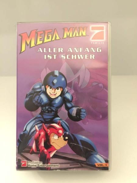 Mega Man - Aller Anfang Ist Schwer - VHS