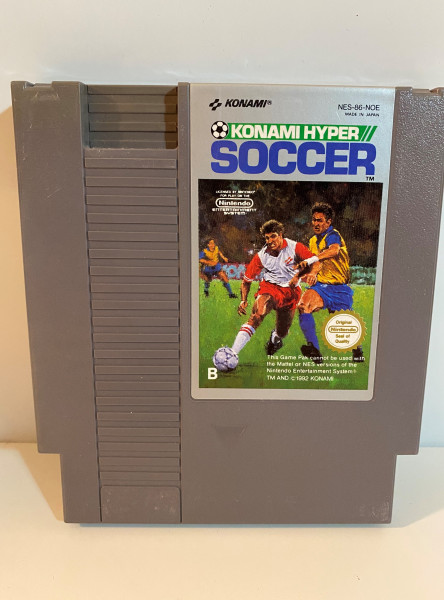 Konami Hyper Soccer - NES