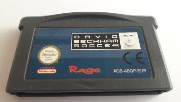 David Beckham - Soccer - GBA