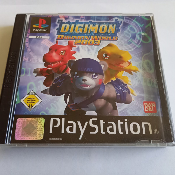 Digimon - Digimon World 2003 - PS1