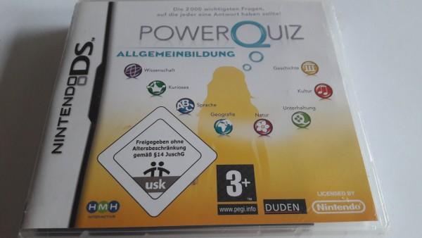 Power Quiz - Allgemeinbildung - DS