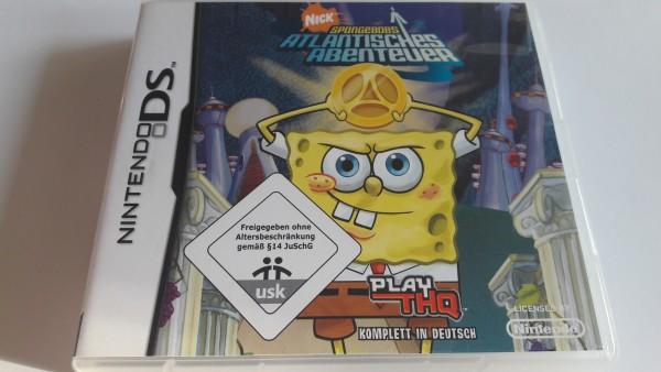 Spongebob Schwammkopf - Atlantisches Abenteuer - DS