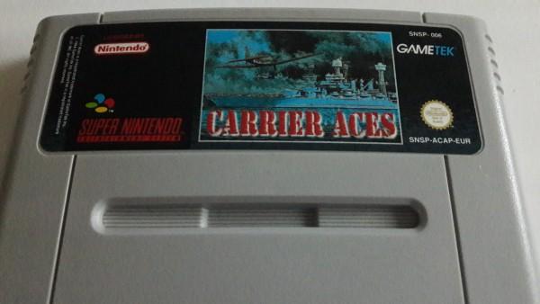 Carrier Aces - SNES
