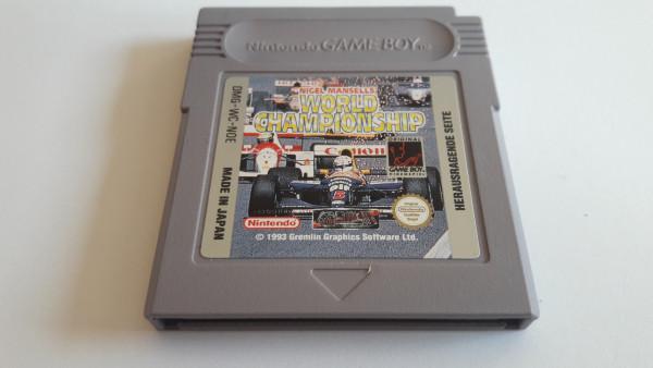 Nigel Mansell's World Championship - Game Boy