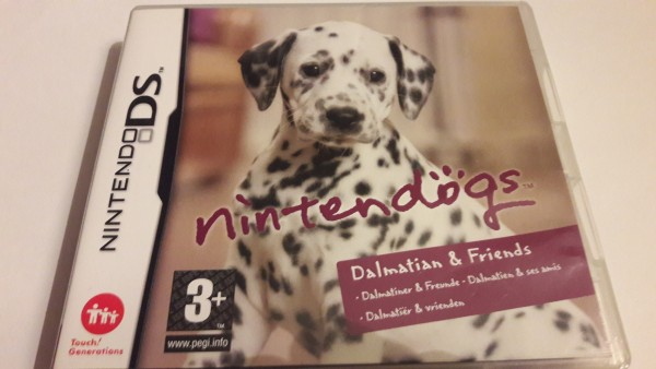 Nintendogs - Dalamtian & Friends - DS