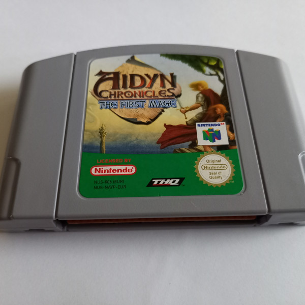 Aidyn Chronicles - The First Mage - N64