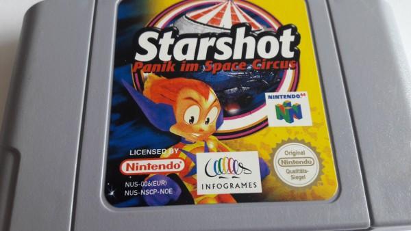 Starshot - Panik im Space Circus - N64