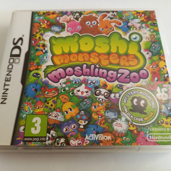 Moshi Monsters - Moshling Zoo - DS