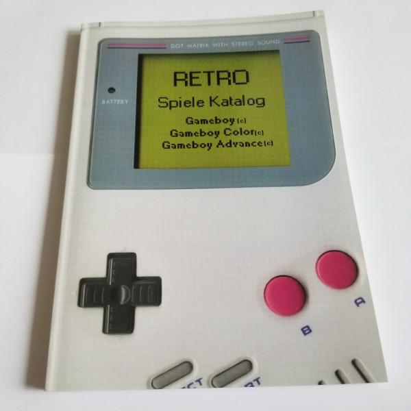 Retro Spiele Katalog - Buch