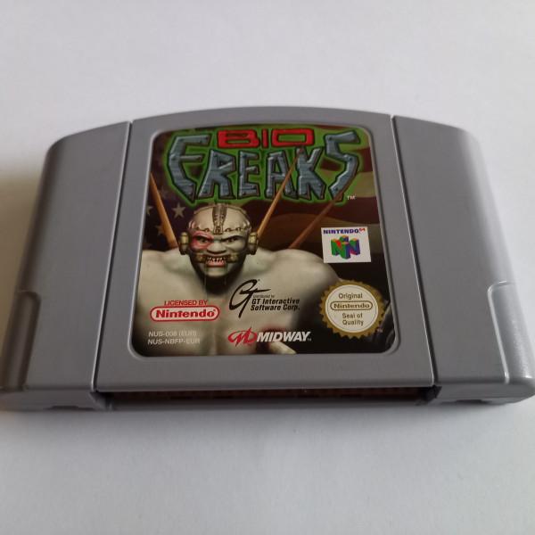 Bio Freaks - N64