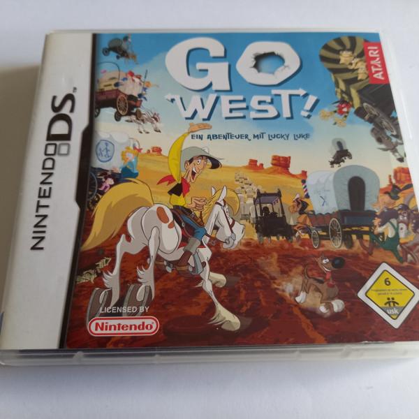 Go West - Ein Abenteuer mit Lucky Luke - DS