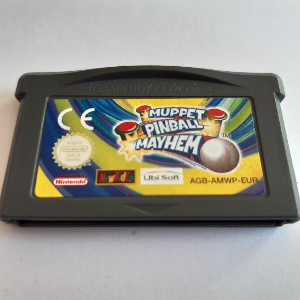 Muppet Pinball Mayhem - GBA