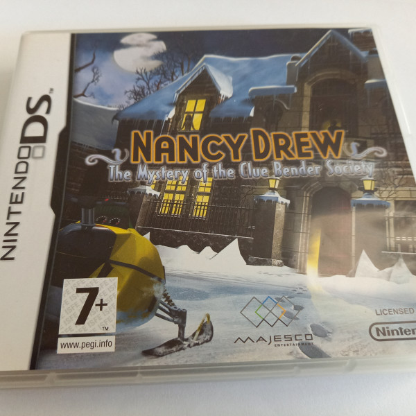 Nancy Drew - The Mystery of the Clue Bender Society - DS