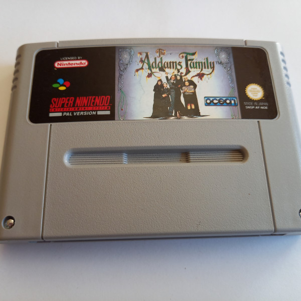 The Addams Family - SNES