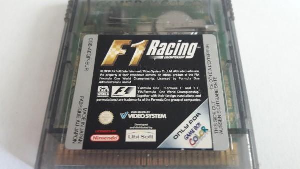 F1 Racing Championship - GBC