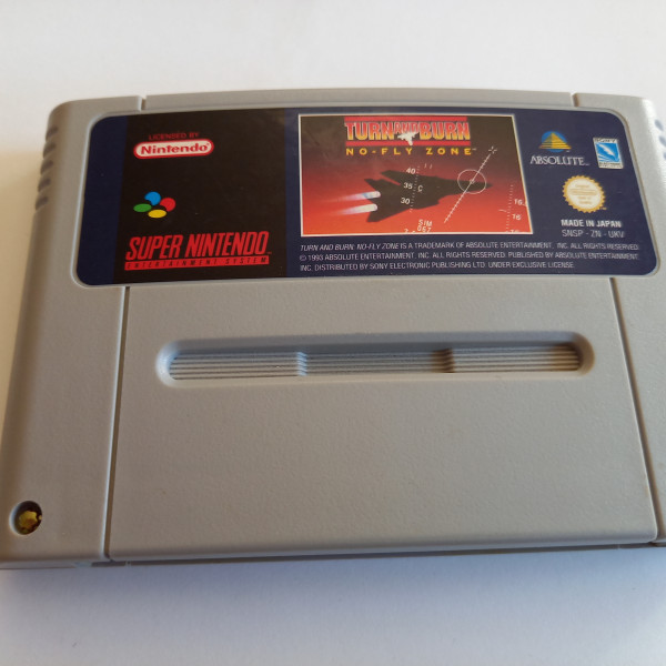 Turn and Burn - No-Fly Zone - SNES