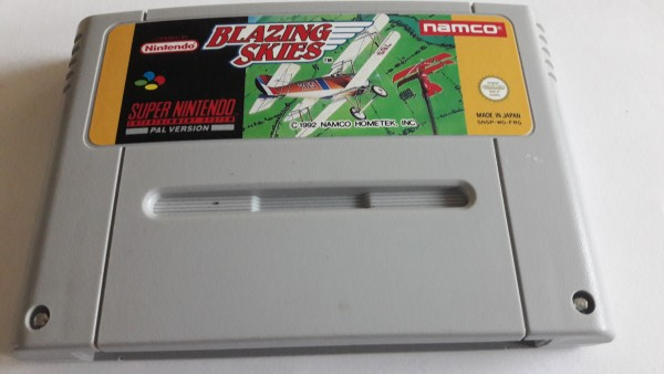 Blazing Skies - SNES