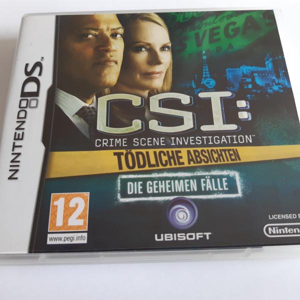 CSI - Crime Scene Investigation - Tödliche Absichten - Die Geheimen Fälle - DS