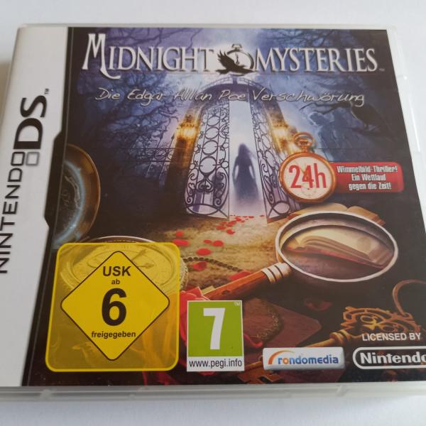 Midnight Mysteries - Die Edgar Allan Poe Verschwörung - DS