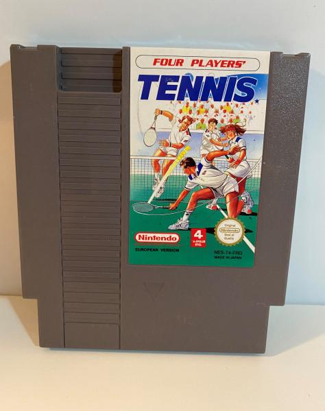 Four Players Tennis - NES