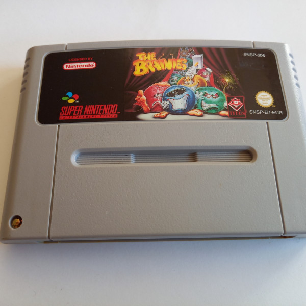 The Brainies - SNES