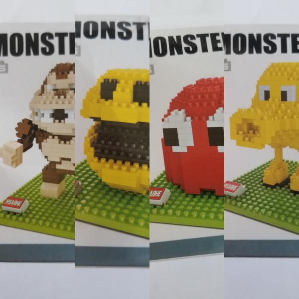 Pixel Monsters - Pac-Man & Donkey Kong - Klemmbausteine