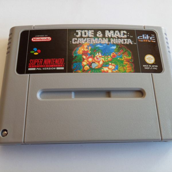 Joe & Mac - Caveman Ninja - SNES