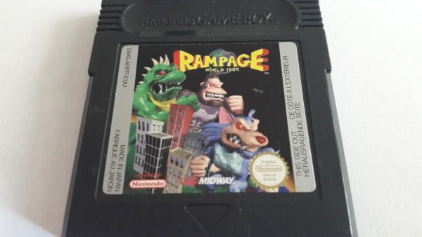 Rampage - World Tour - GBC
