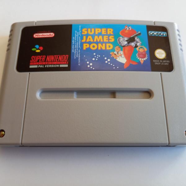 Super James Pond - SNES