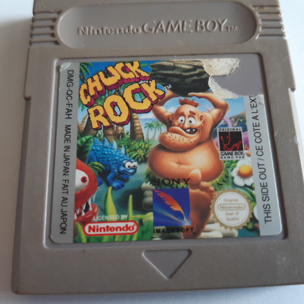 Chuck Rock - Game Boy