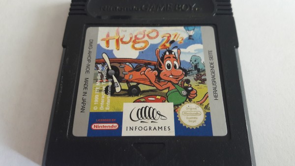 Hugo 2 1/2 - GBC