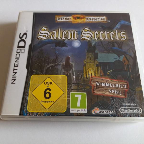 Hidden Mysteries - Salem Secrets - DS