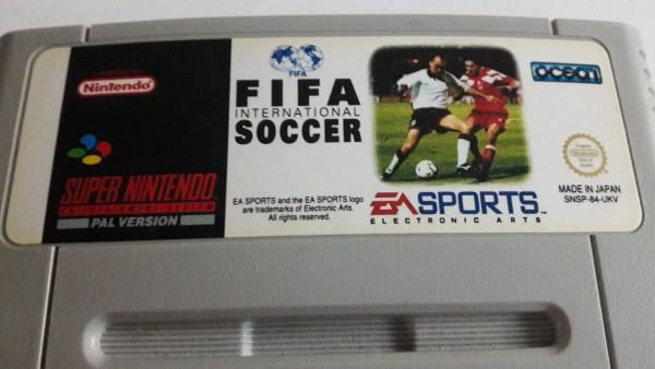 FIFA International Soccer - SNES