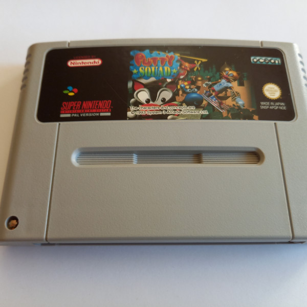 Putty Squad - SNES