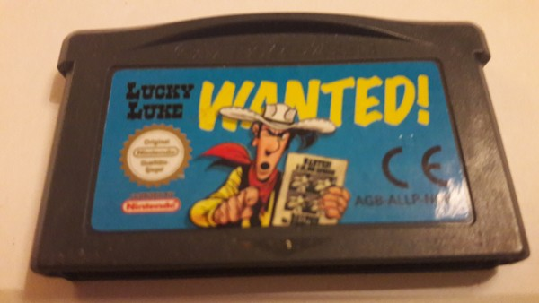 Lucky Luke - Wanted! - GBA
