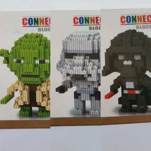 Star Wars - Connection Blocks - Klemmbausteine